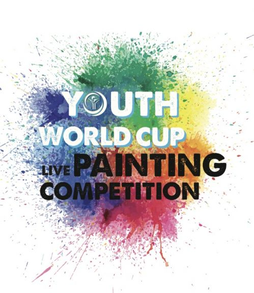The Youth World Cup Live Painting Competition